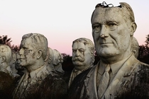 ft Presidential busts in Williamsburg Virginia