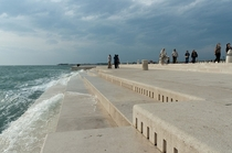 -Ft Sea Organ In Croatia Uses Waves To Create Beautiful Music