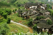 Fubao Village Sichuan Province Peoples Republic of China