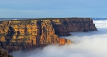 Full cloud inversion at Grand Canyon National Park Dec    Maci MacPherson