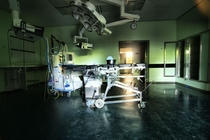 Full operating room in a hosital Netherlands