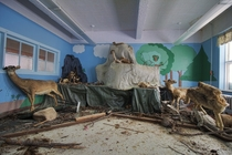Full Size Stuffed Animals Found Inside an Abandoned Orphanage