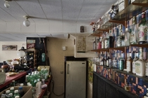 Fully Stocked Basement Bar Inside an Abandoned Ontario Time Capsule House