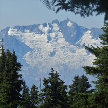 Funny how nature frames things sometimes Garibaldi Provincial Park BC Canada  x
