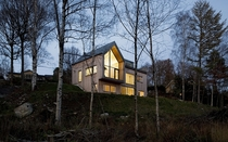Gable-Roofted Swedish House Villa Bond  Kjellgren Kaminsky Architects   x
