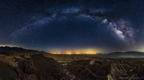 Galactic Badlands - the Borrego Badlands California  photo by Michael Shainblum