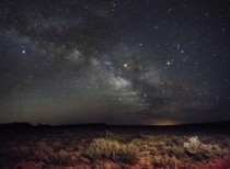 Galactic Core Just East of Colorado City AZ