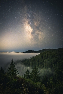 Galactic inversion Mt Tamalpais Ca