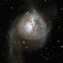 Galaxies Collide in NGC