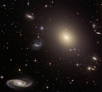 Galaxy cluster Abell S Credit NASA ESA Hubble Heritage Team