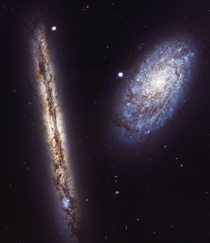 Galaxy Pair NGC  and NGC