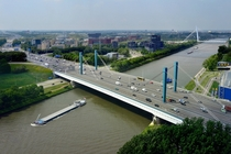 Galecopper bridge Utrecht Netherlands