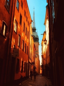 Gamla Stan the Old Town is one of the largest and best preserved medieval city centers in Europe and one of the foremost attractions in Stockholm This is where Stockholm was founded in