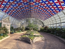 Garfield Park Conservatory - Show House Architect - Jens Jensen  Florescence installation by Luftwerk  x