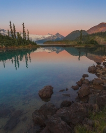 Garibaldi Lake at sunset Whistler British Columbia Canada  Social mikemarkov