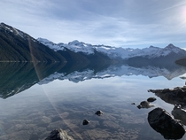 Garibaldi Lake British Columbia