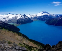 Garibaldi Lake from Panorama Ridge near Whistler Canada OC - hikescom