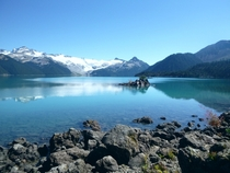 Garibaldi Lake This Afternoon