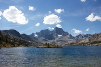 Garnet Lake in Ansel Adams Wilderness California
