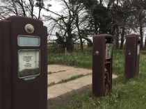 Gas pumps near Brainard NE