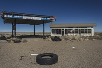 Gas Station in New Mexico by Jade Allen Cook