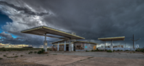 Gas Station in Two Guns AZ