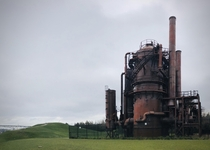 Gasification plant - Gasworks Park Seattle WA