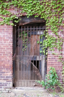 Gated DoorAbandoned Buildings in Akron OhioSome day Ill go inside