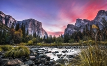 Gates of the Valley Yosemite Valley California