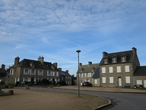 Gatteville-le-Phare Normandy  - a tiny village in a quiet corner of the Cotentin with a few typical Norman houses