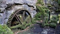 Gears at Gunpowder works Ponsanooth - recreated from earlier post in comments
