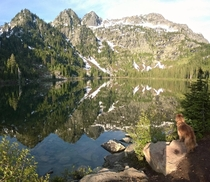 Geiger Lake Cabinet Mountain Wilderness MT