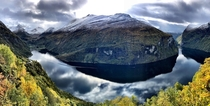 Geiranger Fjord in Norway - World Heritage Site -