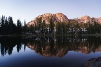 Gem Lake at Sunset Emigrant Wilderness CA
