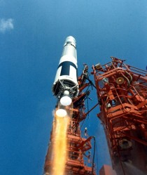 Gemini  Liftoff -- An Interesting Angle