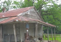 General Store and Gas Pump in Abandoned MS Town