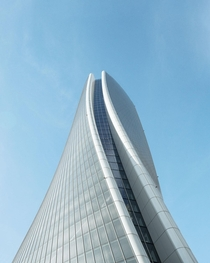 Generali Tower by Zaha Hadid in Milan