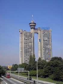 Genex Towers Western gate of Belgrade