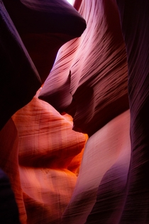 Gentle Folds Lower Antelope Canyon