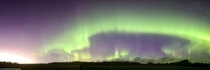 Geomagnetic Unrest Over Rural Alberta