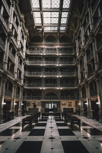 George Peabody Library - Baltimore MD