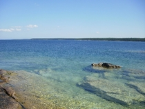 Georgian Bay near Tobermory Ontario Canada