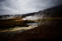 Geothermal Field Iceland