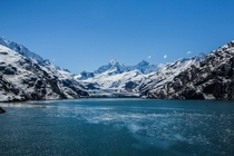 Get your butts to Glacier Bay National Park Alaska before it melts away This is Johns Hopkins Glacier at Jaw Point