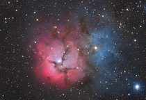 Getting Up Close amp Personal with M Trifid Nebula