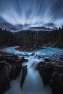 Getting up early allows you to enjoy the Canadian Rockies without the tourists plus you might grab a neat photo or two OC  ross_schram