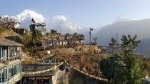 Ghandruk in Kaski District of northern-central Nepal