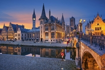 Ghent Belgium Dear lovers of beautiful cities would a sub dedicated to beautiful buildings interest you too Were new at rArchitecturalRevival so please dont hesitate to check us out Im a new member of CityPorn but its already one of my favourite subs