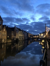 Ghent Belgium during Christmas