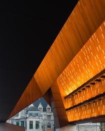 Ghent Market Hall by Marie-Jos Van Hee and Robbrecht amp Daem